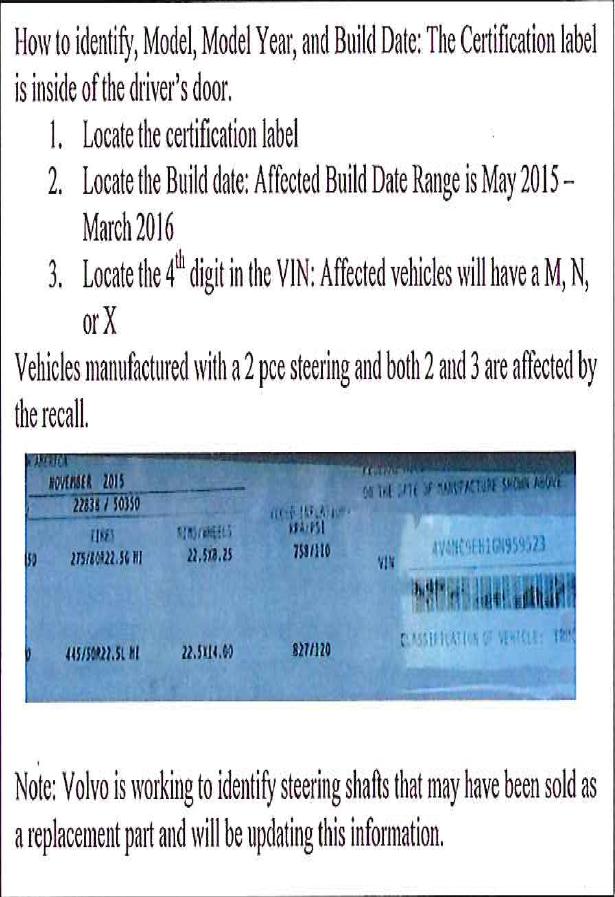 volvo-identification-steering-shaft